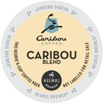 Caribou Coffee Kcups Caribou Blend 24ct