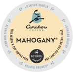 Caribou Coffee Kcups Mahogany 4/24ct