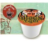 Coffee People Coffee Kcups Black Tiger Extra Bold 4/24ct