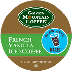Green Mountain Coffee French Vanilla Iced Coffee 4/22ct