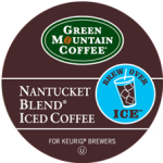Green Mountain Coffee Nantucket Iced Coffee 4/22ct