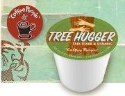 Coffee People Coffee Kcups Tree Hugger 4/24ct